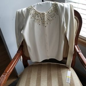 Ladies sequined sweater
